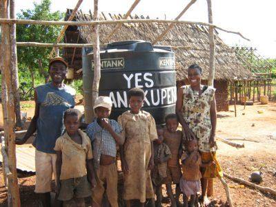 New tank in Manda Kenya