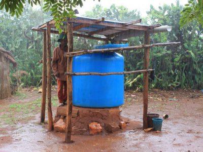 Rainwater harvesting in action!!
